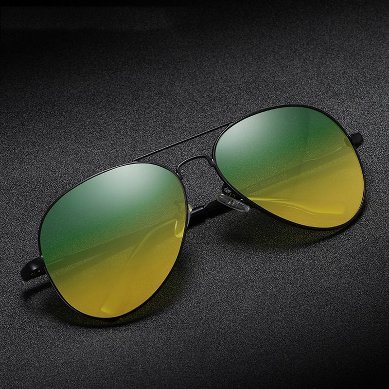 Óculos de Visão noturna Motorista Óculos Polarizados Homens Ao Ar Livre Hd de Visão Noturna de Condução Óculos de Proteção Acessórios Do Carro 2019