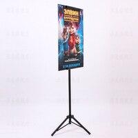 Pop metal tripod bedframe hanging banner up display telescopic holder poster stand surface baking dull polish.jpg 200x200