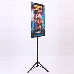 POP trípode de Metal Bedframe pancarta colgante pantalla telescópica titular soporte del cartel de la superficie para hornear aburrido polaco 10 buen embalaje