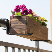 1 пара настенный держатель для цветочного горшка многофункциональная Балконная подставка с креплениями для растений