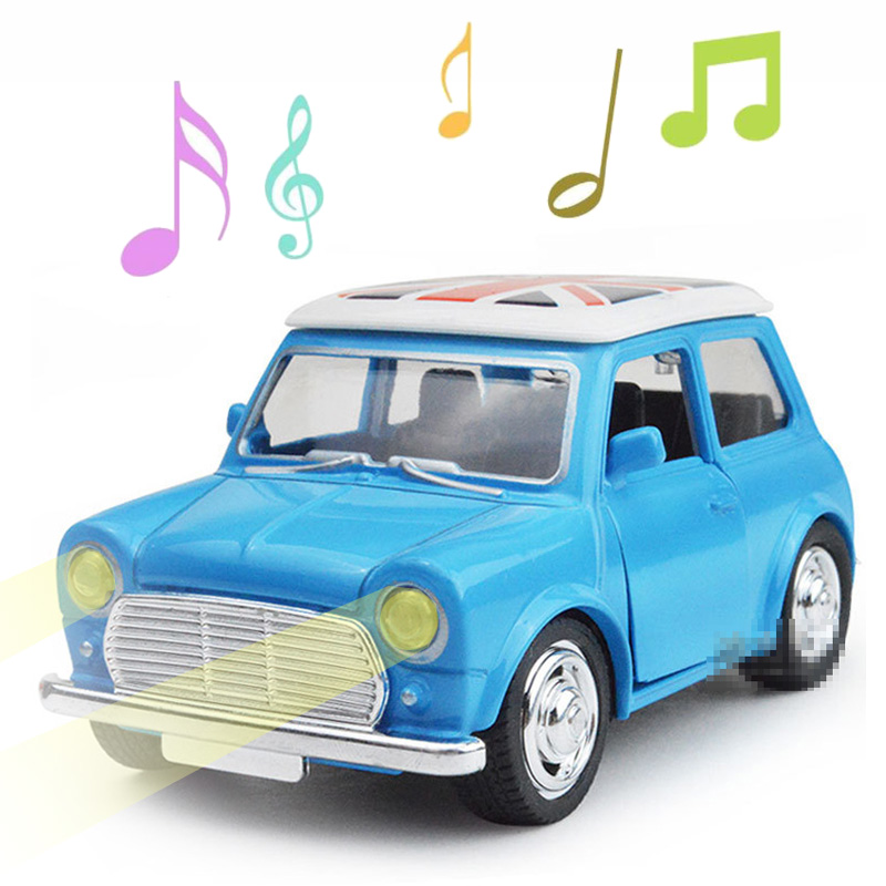 kids toys for boys children 1:38 diecast mini cars sound light alloy pull back vehicle model brinquedos racing car