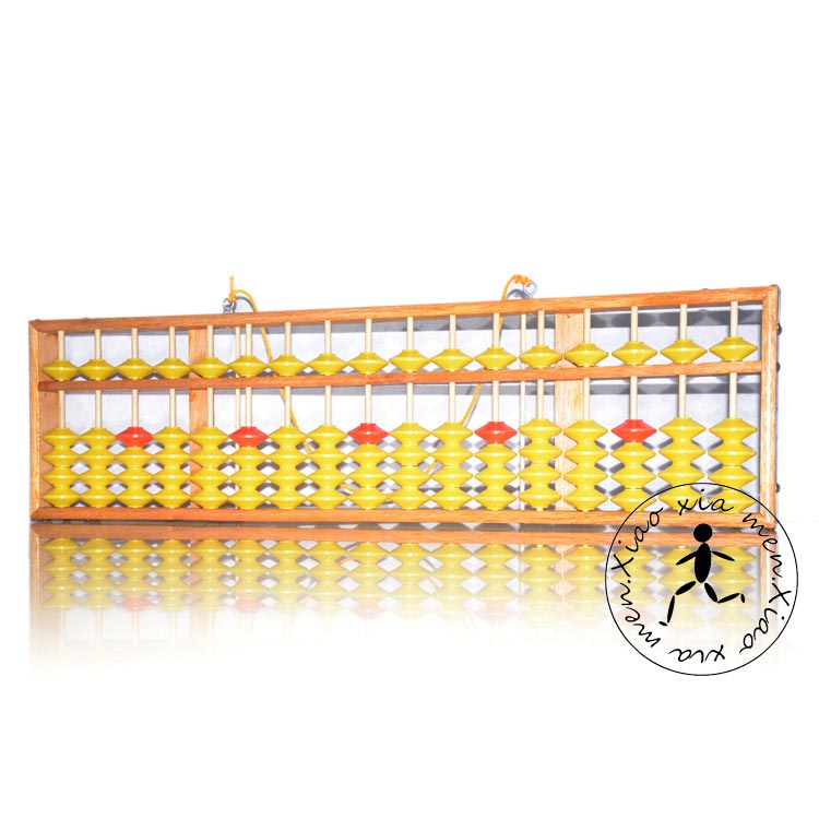 BIG SIZE WOODEN NON-SLIP abacus colorful beads for teacher Tool In Mathematics Education for student 17 columns 5 beads xmf063 цены