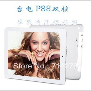 5 PCS Teclast P88 dual-core eight inches tablet PC hd original film scratch resistant skin+Free shipping Via HKPAM