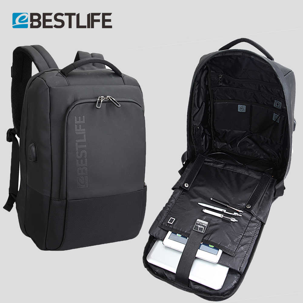 89702a8d697 BESTLIFE Luxury Functional Backpack Men 15.6