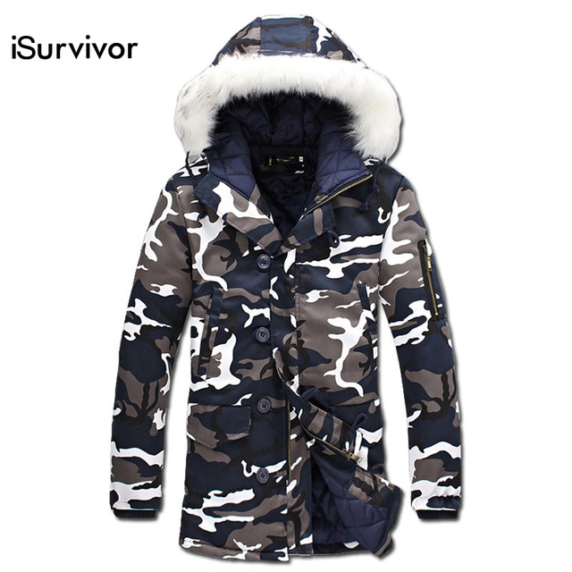Для мужчин куртка 2017 Повседневное Для мужчин куртка плюс Размеры S-5XL зимняя длинная парка Для мужчин пальто мода толстые теплые Для мужчин Куртки и пальто для будущих мам