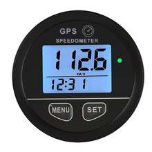 Blue Backlight 52mm GPS Speedometer Gauge Odometer Battery Meter Digital Dash 12v 24v Mph Kmh for Car Truck Boat Motorcycle blue backlight 52mm gps speedometer gauge odometer battery meter digital dash 12v 24v mph kmh for car truck boat motorcycle