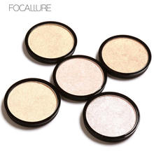 FOCALLURE 4 Color Matte Bronzer Highlighter Contour Shading Powder Makeup Waterproof Long Lasting 3D Face Compact Palette