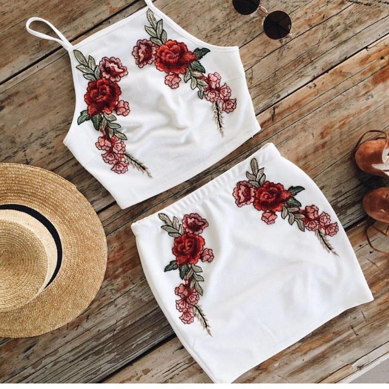 HTB1a45KQpXXXXcCXFXXq6xXFXXXT - FREE SHIPPING Sexy Beach Dress Embroidered Flower Sling Two Piece Set JKP376