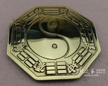 Collection china Folk old,fengshui bronze tai chi gossip mirror,metal crafts home decoration metal mirror