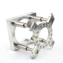 Автоматическая нажимная пластина деревообрабатывающий гравировальный станок шпиндель автоматическая пластина 65 мм 80 мм 100 мм 100 мм ЧПУ компьютерная гравировальная машина