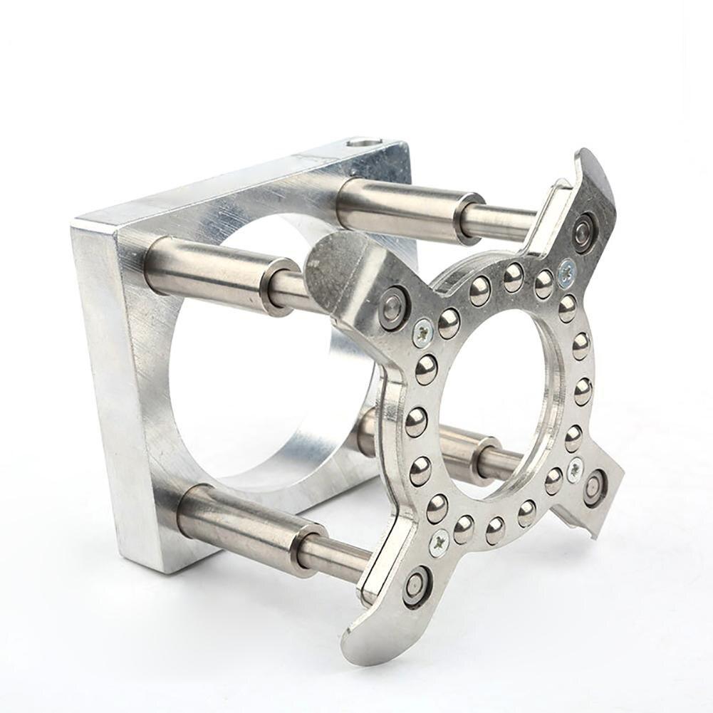 Автоматическая нажимная пластина Деревообработка гравировальный станок шпиндель автоматическая пластина 65 мм 80 мм 100 мм 100 мм ЧПУ компьюте...