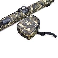 Портативный Открытый путешествия Рыбная ловля катушка талии сумка карман чехол Рыбная ловля сумка Спорт на открытом воздухе удобная сумка