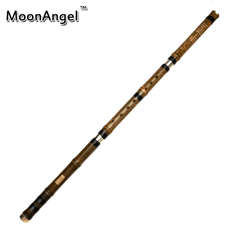 High Quality Chinese three sections G Key Vertical Flauta Professional Musical Instruments Clarinet purple Bamboo Flute XIAO цена