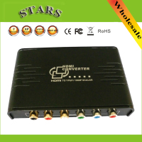 HDMI to 1080P Component Video YPbPr Scaler Converter Supporting Coaxial Audio Output Convert HDMI Input into Analog YPbPr Video
