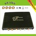 Hdmi para 1080 p vídeo componente ypbpr scaler conversor apoiar a saída de áudio coaxial converter hdmi entrada para analógico de vídeo ypbpr