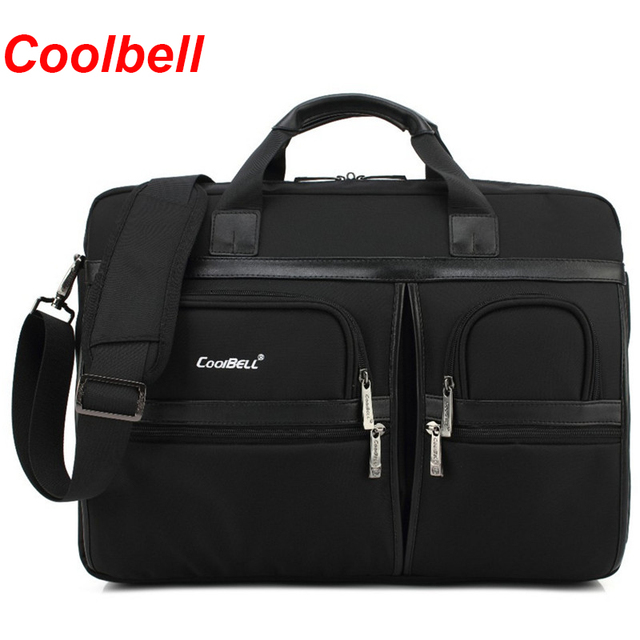 Coolbell Business Laptop Bag 15 17inch Notebook Computer Shoulder Multi Compartment Messenger Briefcase