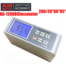 Ag-1268b цифровой блескомеру, glossmeter multi-угол Тесты 20/60/85 неметаллические материалы блеск поверхности Тесты.