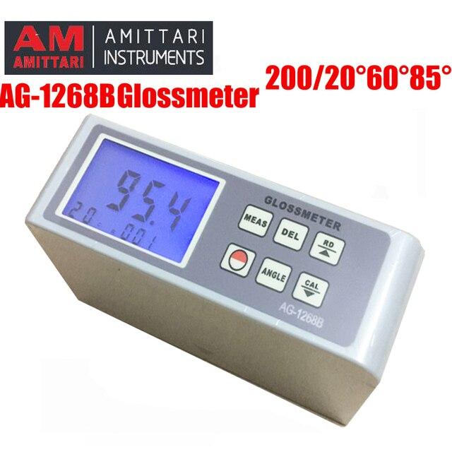AG-1268B glossmeter 20 60 85 Digital Gloss Meter ,Glossmeter Multi-angle test paint gloss meter surface gloss test