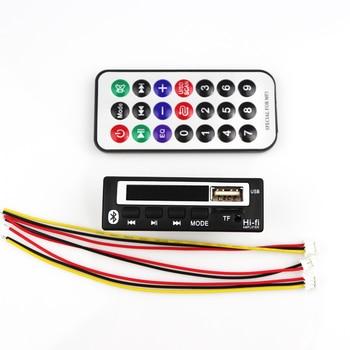Bluetooth 5.0 MP3 decoder board MP3 Player MP3 Bluetooth WMA WAV Decoder module audio accessories with FM radio 12V Color Screen 1