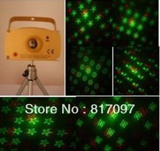 ФОТО 160mW mini stage laser lighting disco laser sound stage club lighting discolight