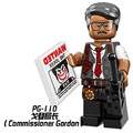Single Sale Super Heroes The Movie Commissioner Gordon March Harriet Bricks Building Blocks Toys For Children PG110