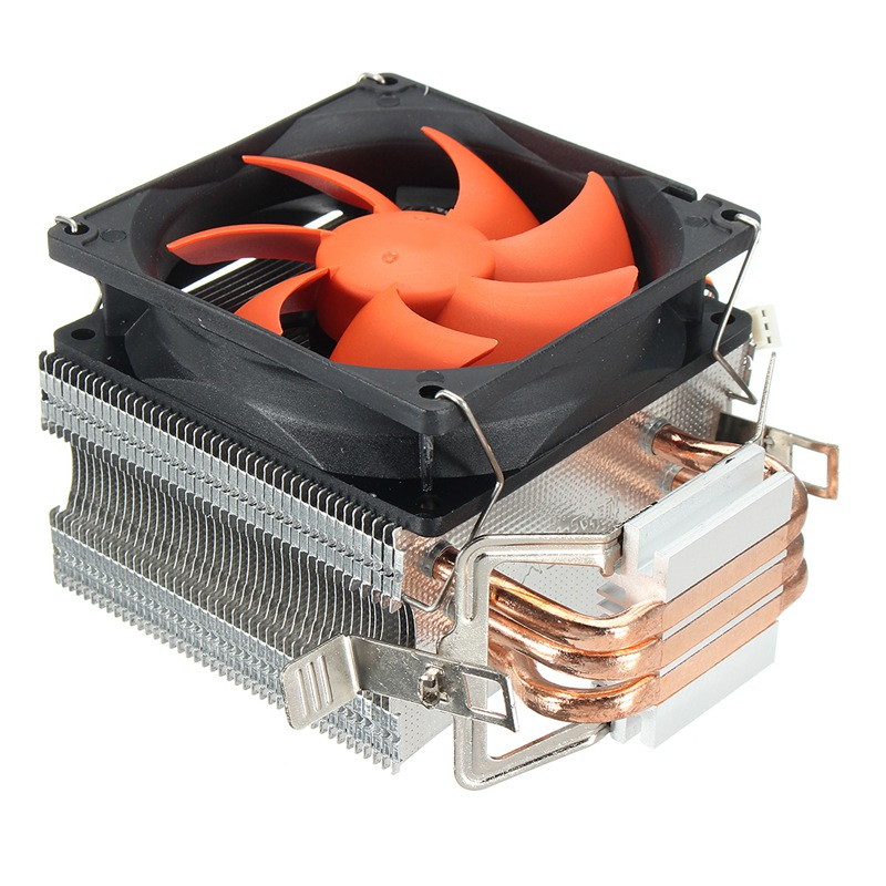 CPU Cooler Fan 3 Pins Heatsink For Intel LGA775/1156/1155 AMD754 AM2 AM2+ AM3 High Quality Computer Cooling Cooler Fan For CPU personal computer graphics cards fan cooler replacements fit for pc graphics cards cooling fan 12v 0 1a graphic fan