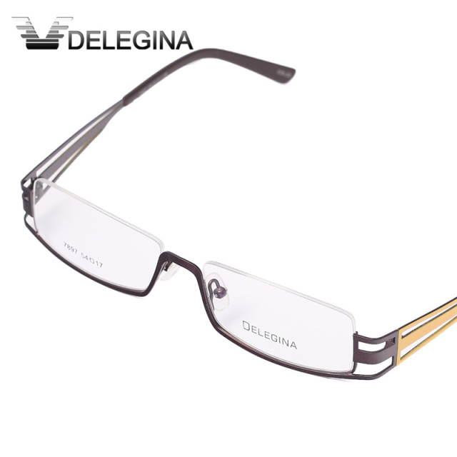 437ce0bb5c Fashion 2018 Half Rim brand designer eye glasses frame Men optical  eyeglasses frames eyewear Male