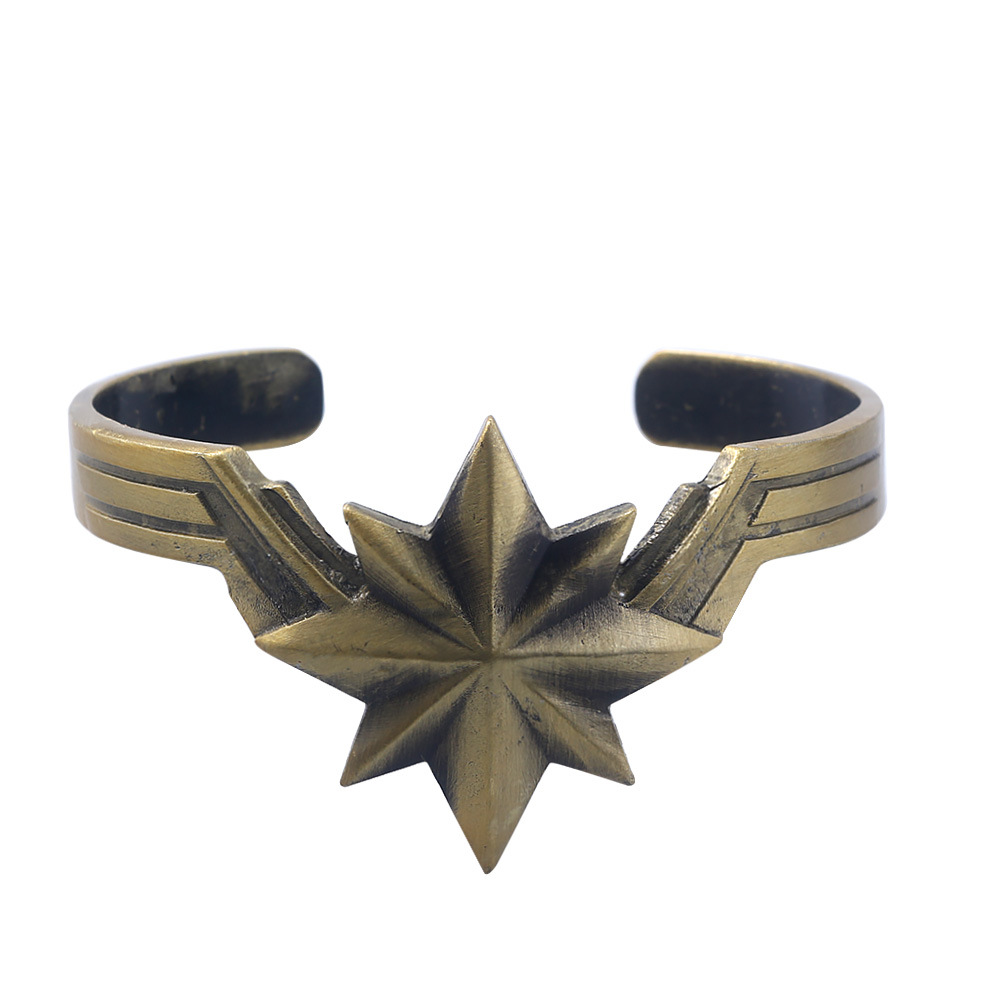 Marvel The Avengers Superhero Captain Wonder Woman Charm Bracelet For Women Fashion Cosplay Jewelry Toys