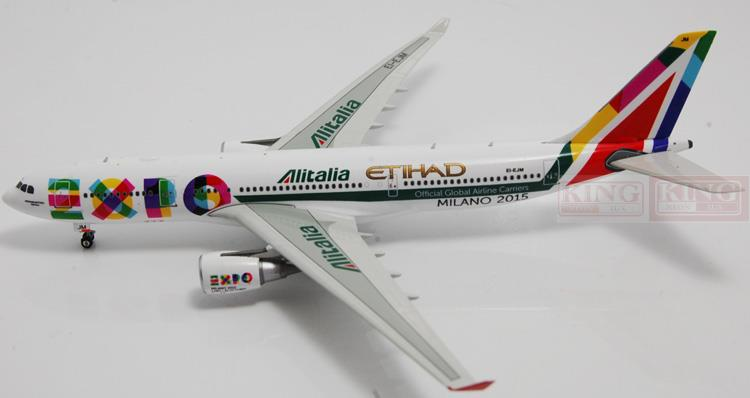 Phoenix 11035 Italy Airlines A330-200 Expo 2015 1:400 commercial jetliners plane model hobby phoenix 10596 a330 200 b 6538 chinese eastern airlines skyteam no 1 400 commercial jetliners plane model hobby