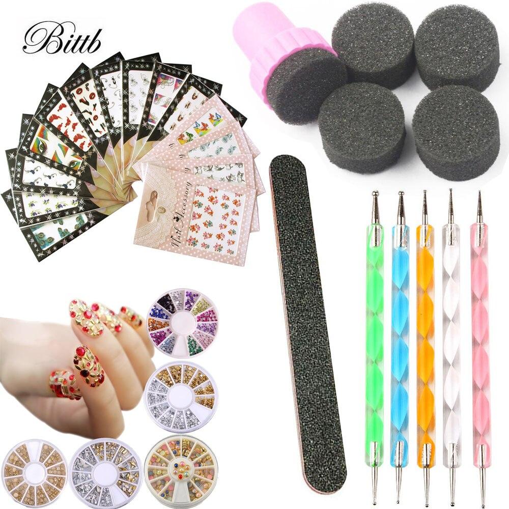 Großhandel nail full stamping set Gallery - Billig kaufen nail full ...