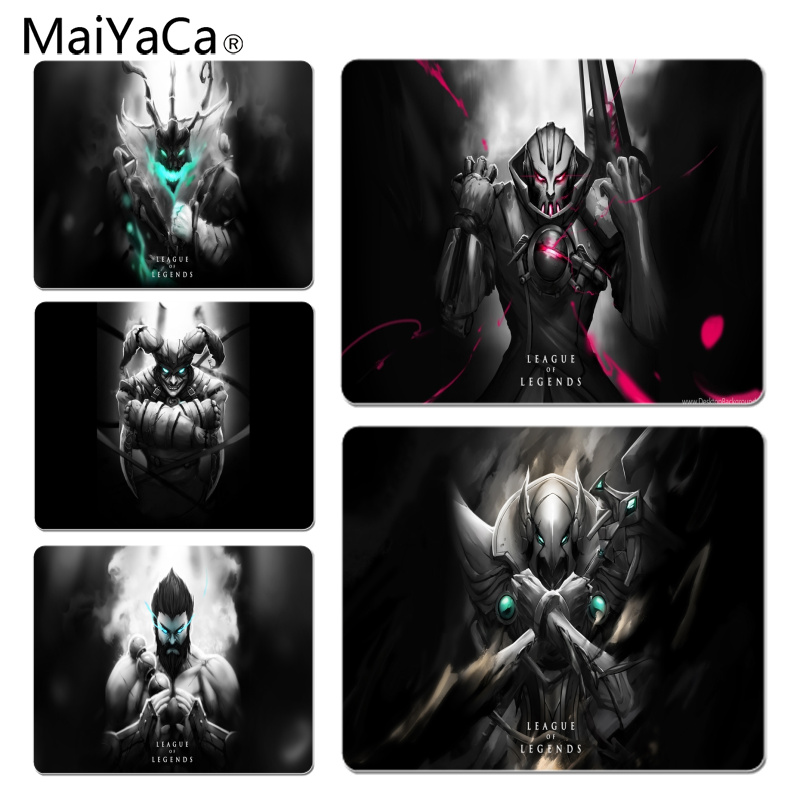 MaiYaCa Personalized Fashion For lol Hero Customized laptop Gaming mouse pad Size for 180x220x2mm and 250x290x2mm Small Mousepad