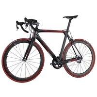 2016 ICAN полный углерода велосипед Aero дорожный мотоцикл углеродное волокно велосипед для профессиональной гонке группы карбоновая рама + коле...