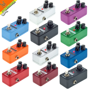Image 2 - NUX Mini Core Guitar Effects Pedal Chorus Compressor Overdrive Distortion Booster Vibe Vibrato Loop Reverb Phaser Guitar Pedal