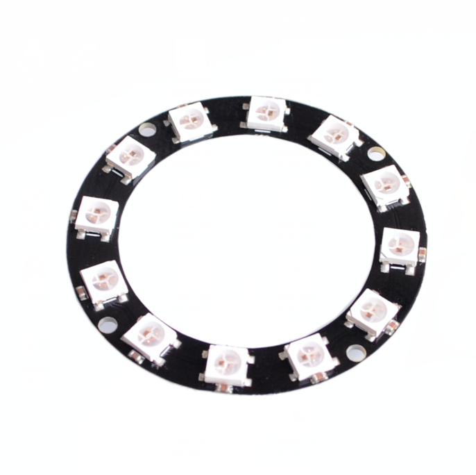Integrated Circuits Sporting 10pcs/lot 12-bit Rgb Led Ring Ws2812 5050 Precise Active Components