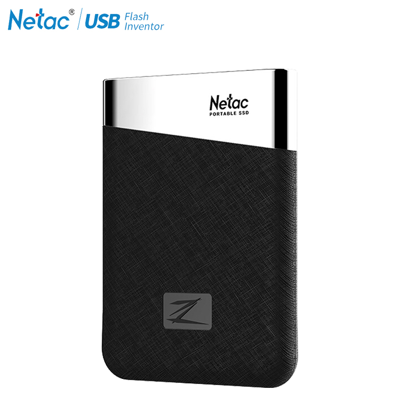 Netac Z6 Tipo C USB 3.1 SSD DA 240 GB 480 GB 960 GB Max Velocità di Scrittura fino a 400 MB/s esterno portatile Disco A Stato Solido-in SSD esterno da Computer e ufficio su  Gruppo 1