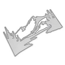 Mountain River Metal Cutting Dies for Card Making