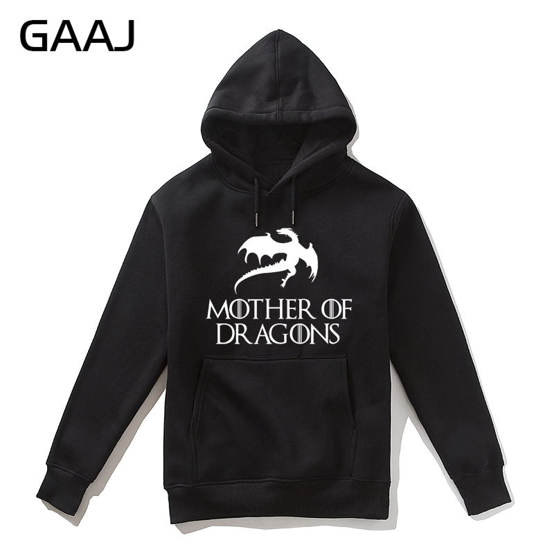 Women's Clothing Methodical mother Of Dragons Print Letter Men Hoodie Women Mens Printing Day Gifts2017 New Man Male Casual Homme Jacket Streetwear High Q