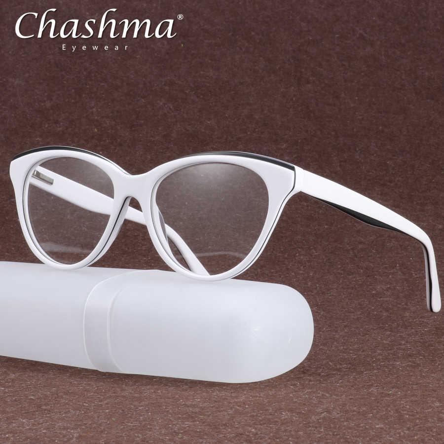 8bd557e17b9 Acetate Optical Glasses Frame Women Vintage Cat s eye Myopia Prescription  Eyeglasses Retro Spectacles Screwless Eyewear Oculos