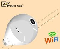 360 degree Wireless IP Camera Bulb Light smart home CCTV camera Home Security WiFi Camera,free shipping