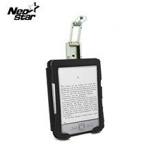 Pu Funda de piel Para Amazon Kindle 4 5 libros electrónicos LED luz Monedero Magnético Para Kindle 4/5 Geration Lector de Libros Electrónicos de 6 Pulgadas