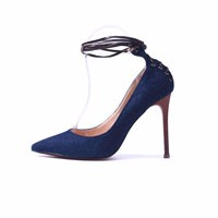 GENSHUO-Shoes-Women-Fashion-Pointed-Toe-Wood-Grain-Denim-High-Heel-Shoes-Red-Bottom-High-Heels