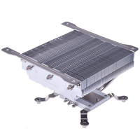 ID COOLING IS 65 Computer CPU Cooler Small Chassis Ultra Thin HTPC Under Pressure Heat Pipe CPU Fan