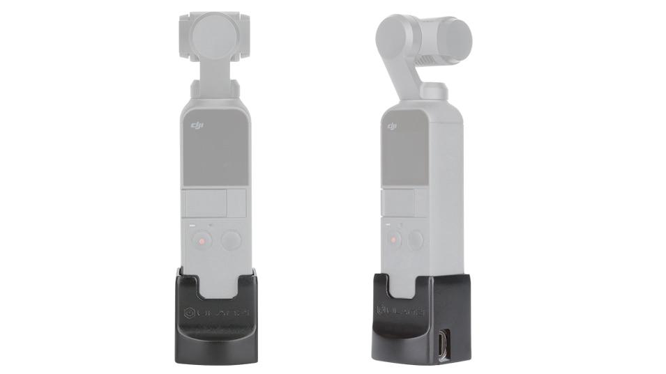 Ulanzi OP2 Gimbal Accessories for Dji Osmo Pocket Vertical Gimbal Base Holder Fixed Mount 1/4 Screw USB Charging Port Type-C 2