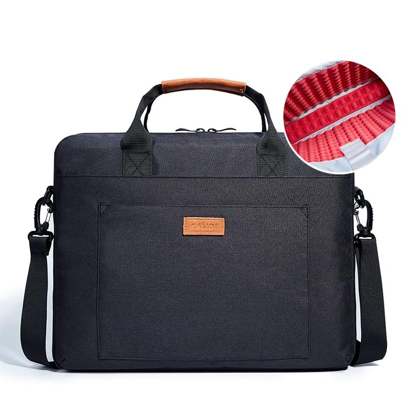 KALIDI 13 14 15.6 17 Inch Laptop Shoulder Bags Notebook Briefcase Messenger Bag for Dell