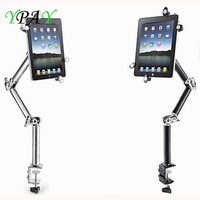 YPAY Multifunction 4 10 Inch Tablet Phone Holder Stand 360 Degree Flexible Scalable Arm for IPhone Ipad Holder Lounger Bracket