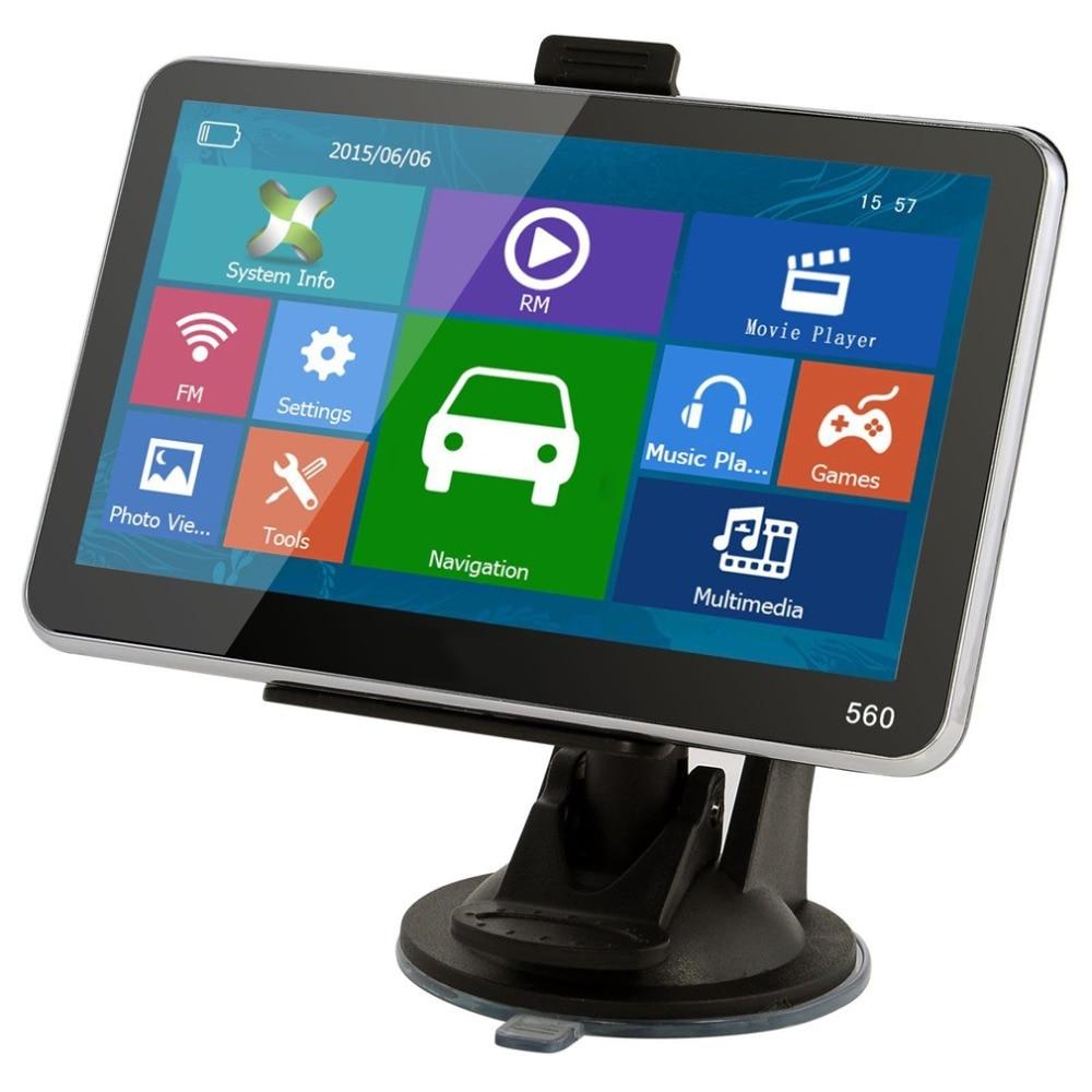 2016 New 5 inch TFT LCD Display TRUCK CAR Navigation font b GPS b font Navigator