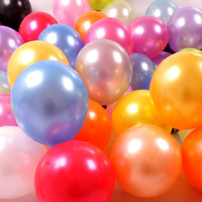 100pcslot wedding supplies 12 inch pearl birthday party activities 100pcslot wedding supplies 12 inch pearl birthday party activities balloon decoration thickening balloon wholesale in ballons accessories from home junglespirit Image collections