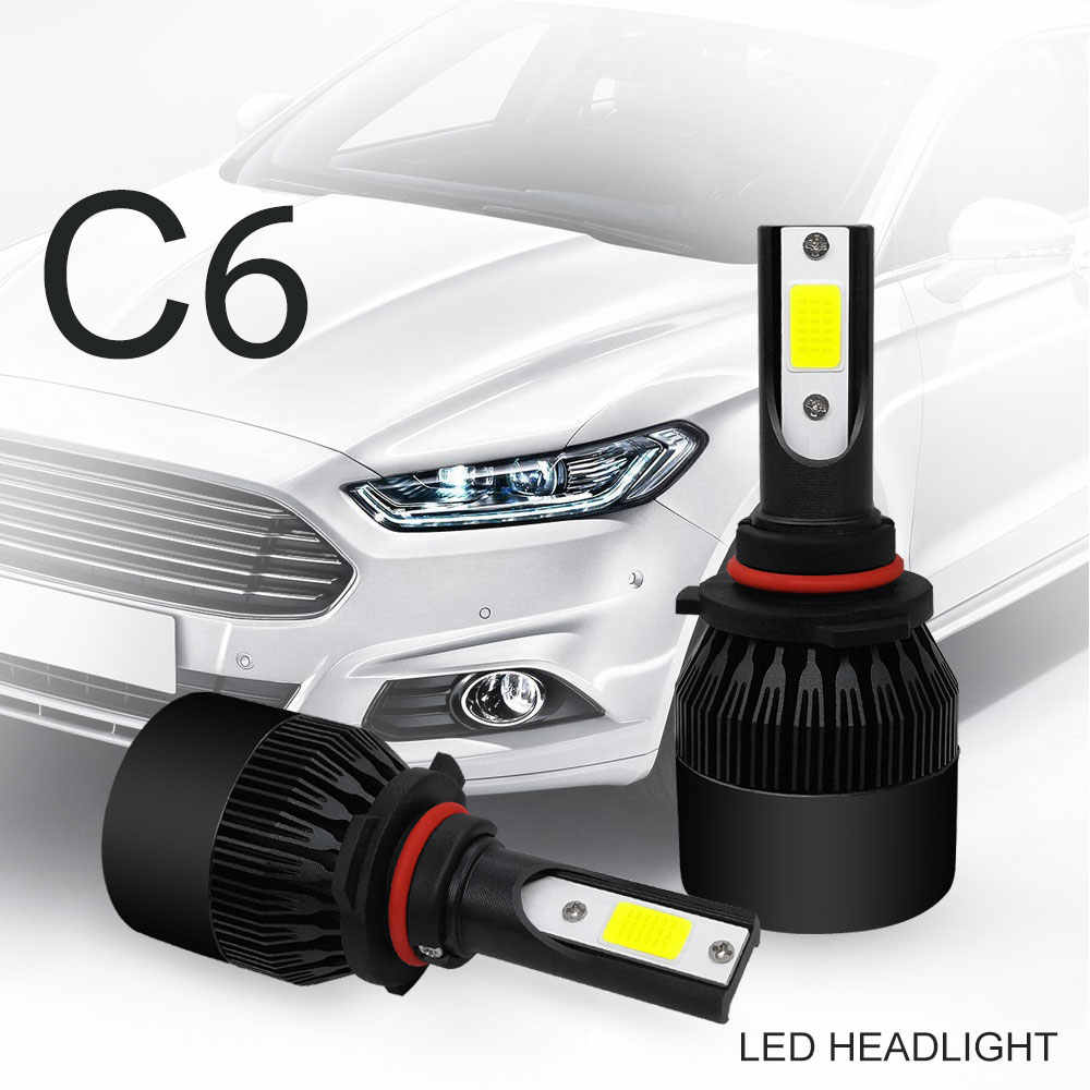 Car Daytime Running Lights drl Luces Led Para Auto LED Fog Light H1 H4 H7 H11 9005 9006 Automotivo Headlamp 12v 72w