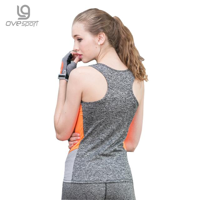 Women Fitness Vest Quick Dry Breathable Sleeveless Shirt