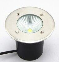 COB светодиодный подземный светильник 15 Вт AC85-265V светильник светодиодный подземный светильник IP68 светодиодный подземный светильник теплый ...